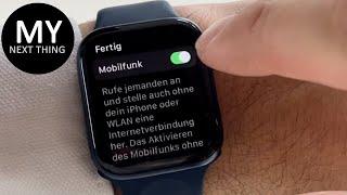 Nie mehr ohne Cellular (eSIM)! - Apple Watch Series 6 - deutsch