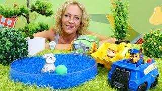 Spielspaß mit der Paw Patrol - Spielzeugvideo für Kinder - 5 Folgen am Stück