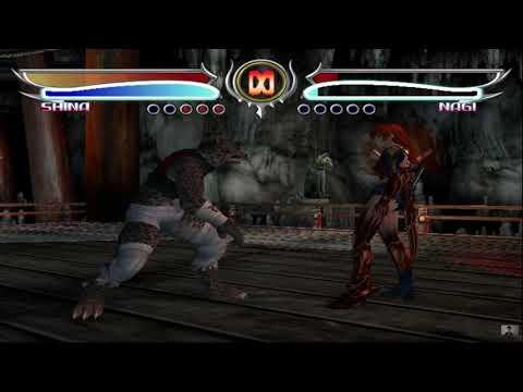 bloody roar 4 second suit shina vs nagi human