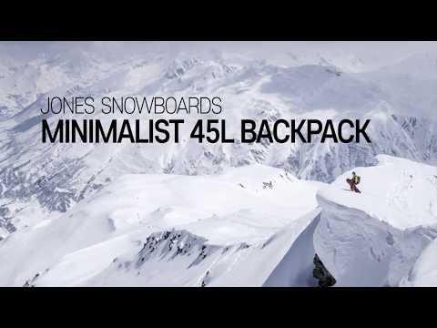 Jones Snowboards 2018 Minimalist 45L Backpack