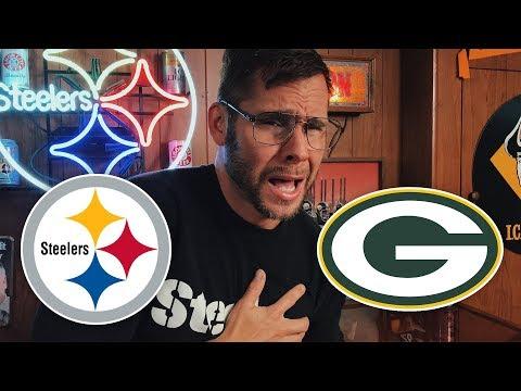 Dad Reacts to Steelers vs Packers (Week 12)