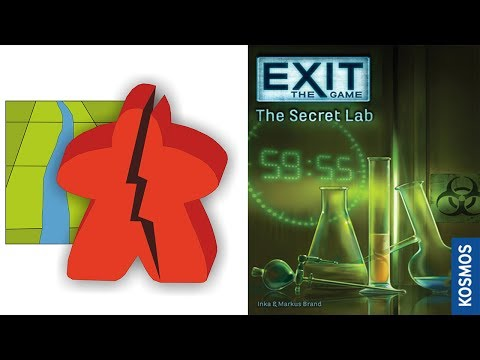 The Broken Meeple - EXIT: Secret Lab Review