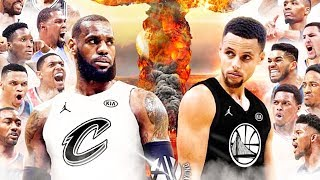 2018 nba allstar game be likeâ ¦ ft. lebron james  stephen curry  kyrie irving and kevin durant