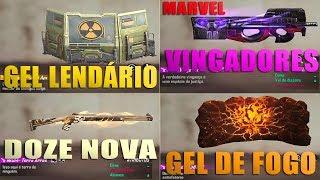 NOVA P90 DOS VINGADORES, NOVO GEL LENDÁRIO, NOVA M1014 LENDÁRIA, NOVA AWM E MAIS!