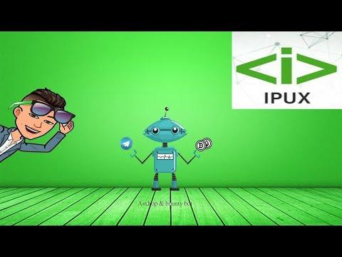 $9.5 Dólares para fazer o Airdrop Bot da IPUX.