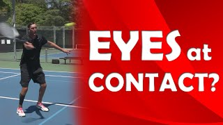 Eyes At Point Of Contact Contact Point Tips