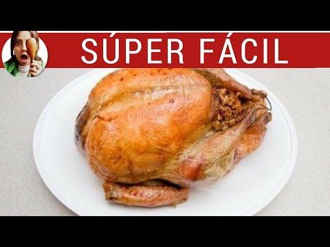 Pollo a la sal EN 2 PASOS sencillos o cómo hacer pollo al horno SÚPER fácil, queda jugoso!!!