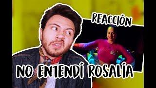 REACCIÓN A 'F*cking Money Man (Milionària + Dio$ No$ Libre Del Dinero) LA ROSALÍA | Niculos M