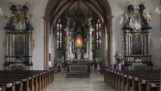 preview picture of video 'Ottersweier Maria Linden Katholische Wallfahrtskirche Innenansicht Teil 1 am 14.11.2012'