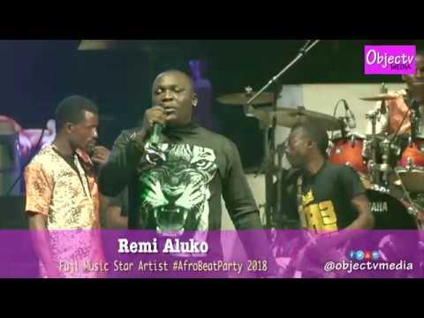 Fuji Star Remi Aluko Extols Fela Anikulapo Kuti at The AfroBeat Party 2018