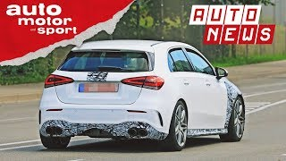 Mercedes-AMG A45 (2019): Erster Erlkönig unterwegs!  - NEWS | auto motor und sport