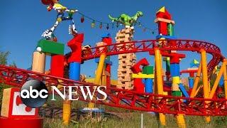 Inside Disney's new Toy Story Land