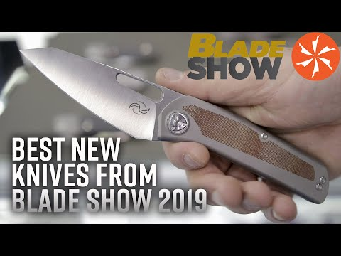 Best New Knives at BLADE Show 2019: KnifeCenter.com