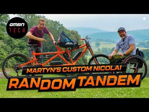 Martyn Ashton's Random Tandem | GMBN Tech Pro Bike Check