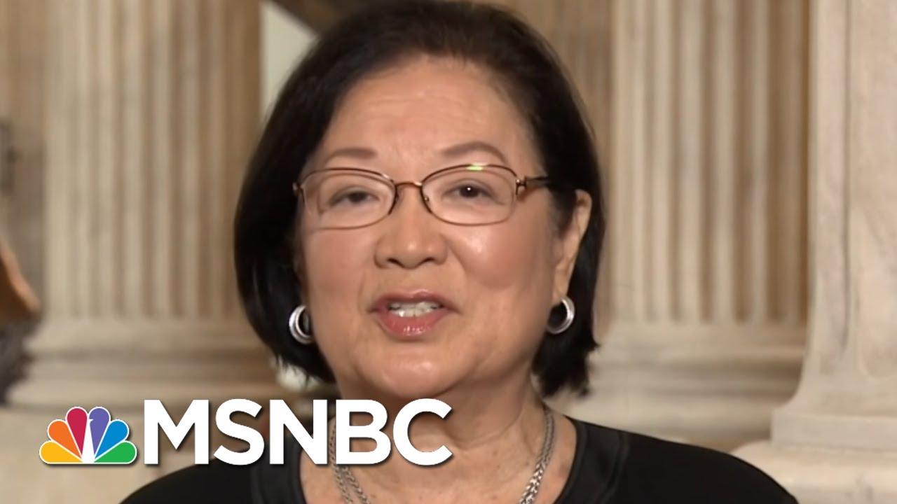 Democrat Senator: ICE 'Needs To Be Reviewed And Changed' Not Abolished | Hallie Jackson | MSNBC thumbnail