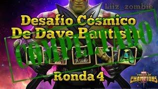 Desafió Cósmico de Dave Bautista! Ronda 4 - Marvel Batalla de Superheroes!