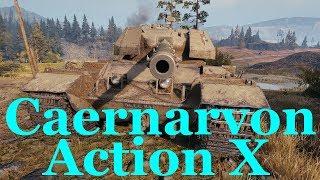 【WoT:Caernarvon Action X】ゆっくり実況でおくる戦車戦Part450 byアラモンド