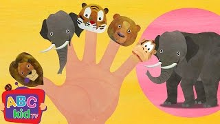 Finger Family - Animals | CoCoMelon Nursery Rhymes & Kids Songs