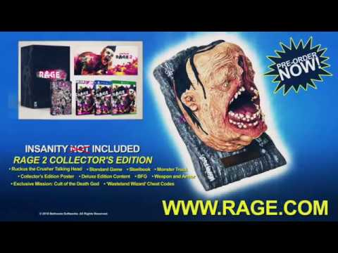 Buy RAGE 2 Collectors Edition UK Retail Exclusive On