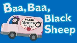 Baa Baa Black Sheep Animated - Mother Goose Club Rhymes for Kids