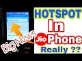 Dont be Fool Hotspot In JioPhone How To Share DataCreate Hotspot features In JioPhone Really