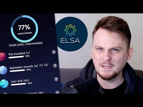My Review of an English Pronunciation App (ELSA Speak) - YouTube