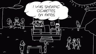 BabyJake - Cigarettes On Patios (Official Lyric Video)