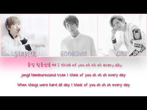 B1A4 - A DAY OF LOVE(반하는 날)  Lyric (Han/Rom/Eng)