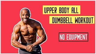UPPER BODY WORKOUT + ABS ( NO EQUIPMENT)