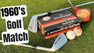 Epic Golf Match Using 1960