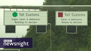Is this a future model for the Irish border?  - BBC Newsnight
