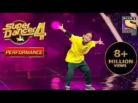 Florina ने किया Judges को Stressfree   Super Dancer 4   सुपर डांसर 4