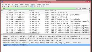 Using Wireshark to Find the HTTP Login Decode