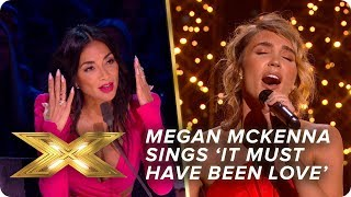 Megan puts a Christmas spin on 'It Must Have Been Love' | Semi-Final | X Factor: Celebrity