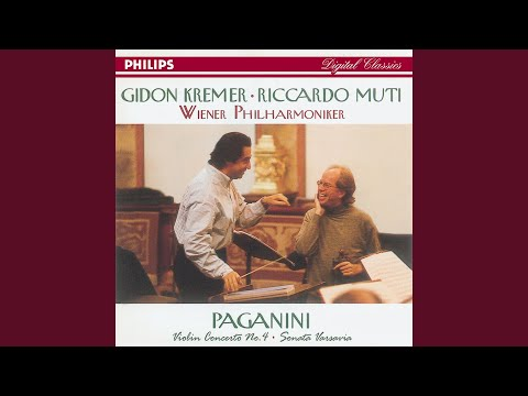Paganini: Violin Concerto No.4 in D minor