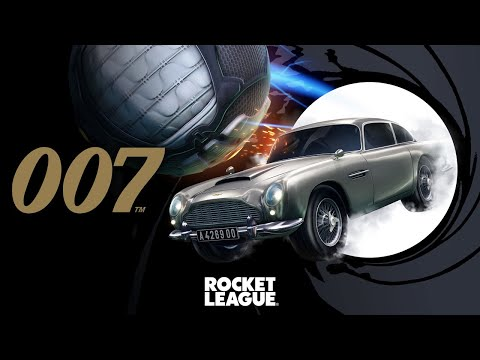 Le lot 007's Aston Martin DB5 arrive dans Rocket League de