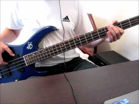Audioslave - Broken City [bass cover]