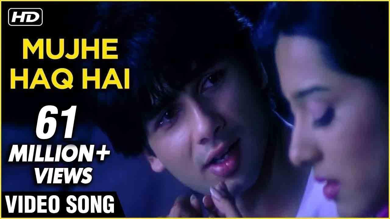 Mujhe Haq Hai Lyrics - Vivah| Udit Narayan, Shreya Ghoshal Lyrics