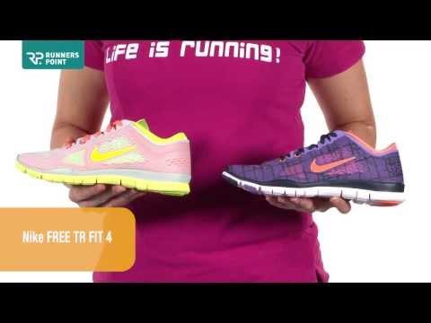 Damen Laufschuhe / Fitnessschuhe Nike Free TR Fit 4