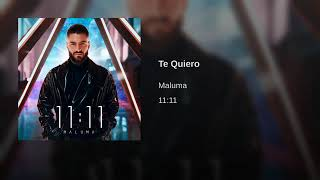 Maluma - Te Quiero (Official Audio 2019)