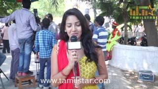 Pavani at Vajram Movie Shooting Spot