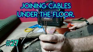 Joining cables under the floor. (#27)