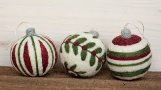 Christmas Ornaments Instructions