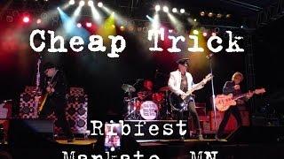 "Cheap Trick ""Elo Kiddies"" Mankato, MN Ribfest 8/7/15"