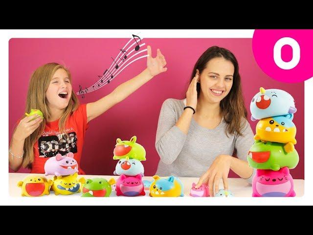 Музыкальная игрушка-нотка SILLY SQUEAKS - ТИСКЕР ДО