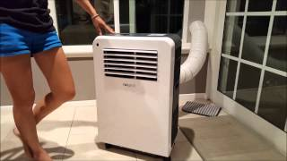 How to install your portable Air Conditioner- NewAir AC-12200E