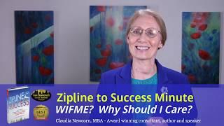 Zipline Minute #17: WIFME ~ Features vs Benefits