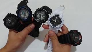 Часы Casio G-Shock GA 100 черные от компании Happywatch - видео