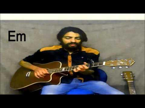 Enna sona | ok jaanu | guitar tutorial | song | complete guitar chords| |