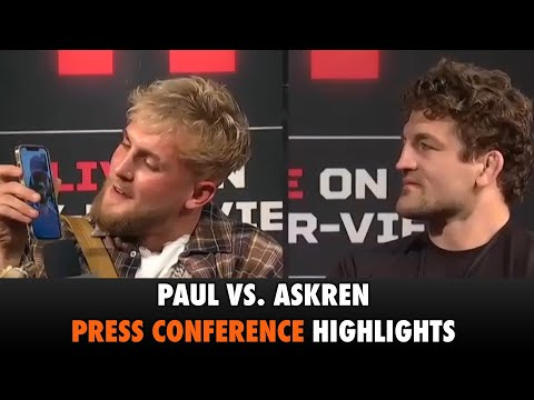 Jake Paul vs. Ben Askren – Press Conference Highlights | Triller Fight Club